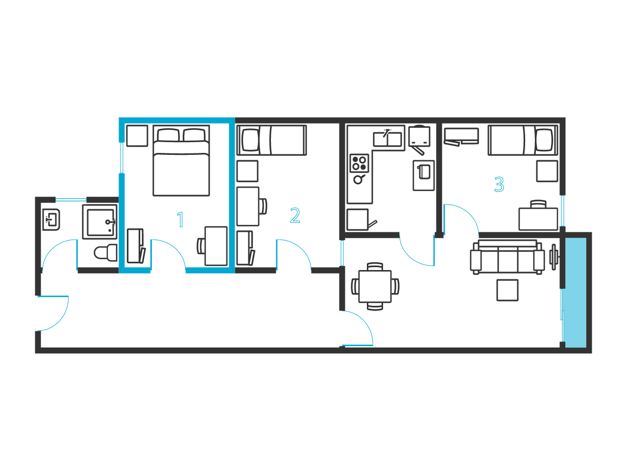 Tricycle Smoby as well Sebenico together with Vandervelden Court moreover Prg099 Apartment Brevnov Prague 6 further Hotel Floor Plan. on chair sofa bed single